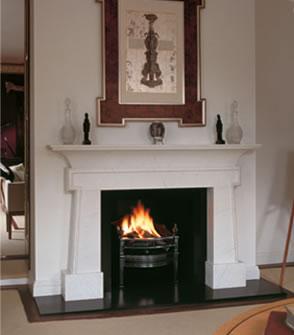 John Kane Coal Burning Fireplace