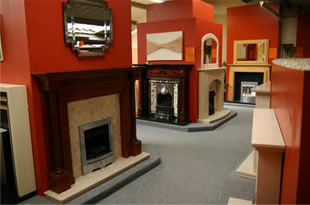 john kane fireplace showroom